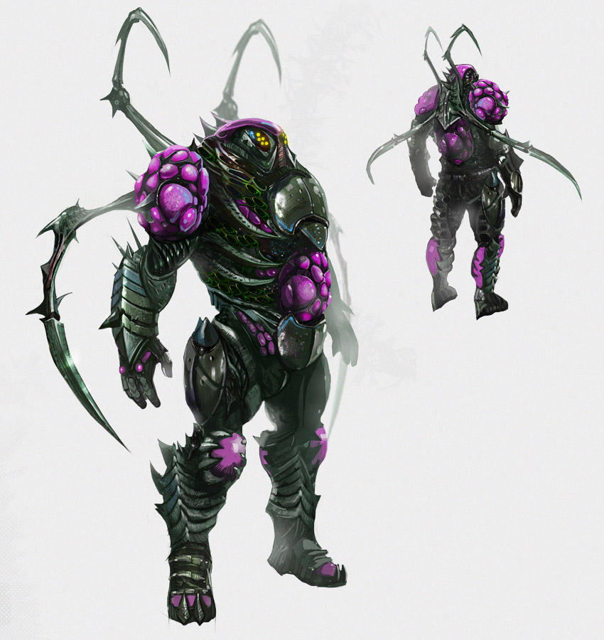 Chosen by Xi Armor Concept Art