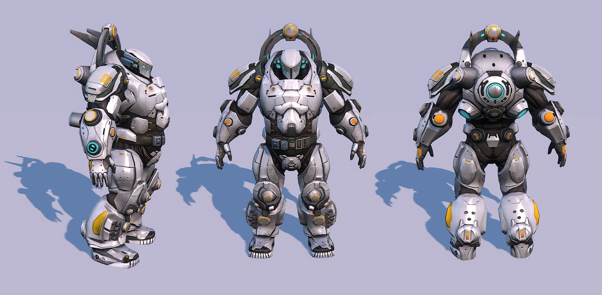 Dominion Armor Rendering (First Version of Color Scheme)