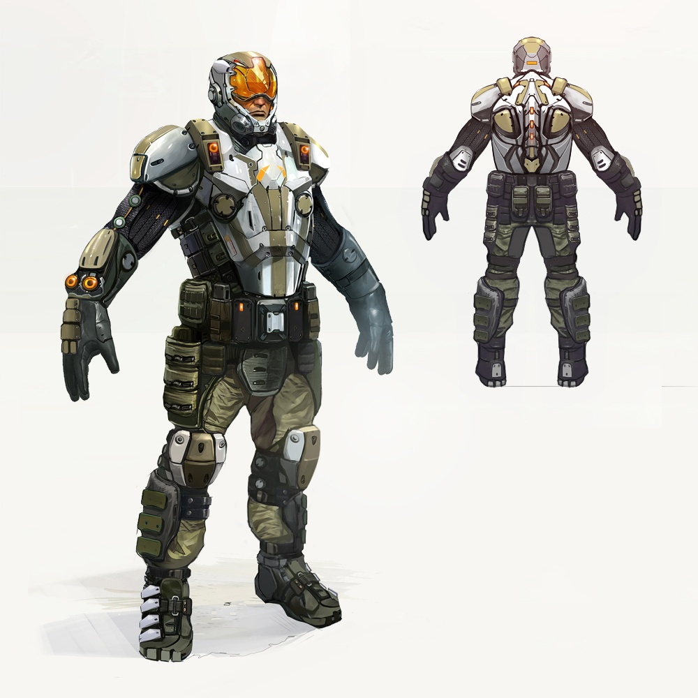Guard Armor Concept Art
