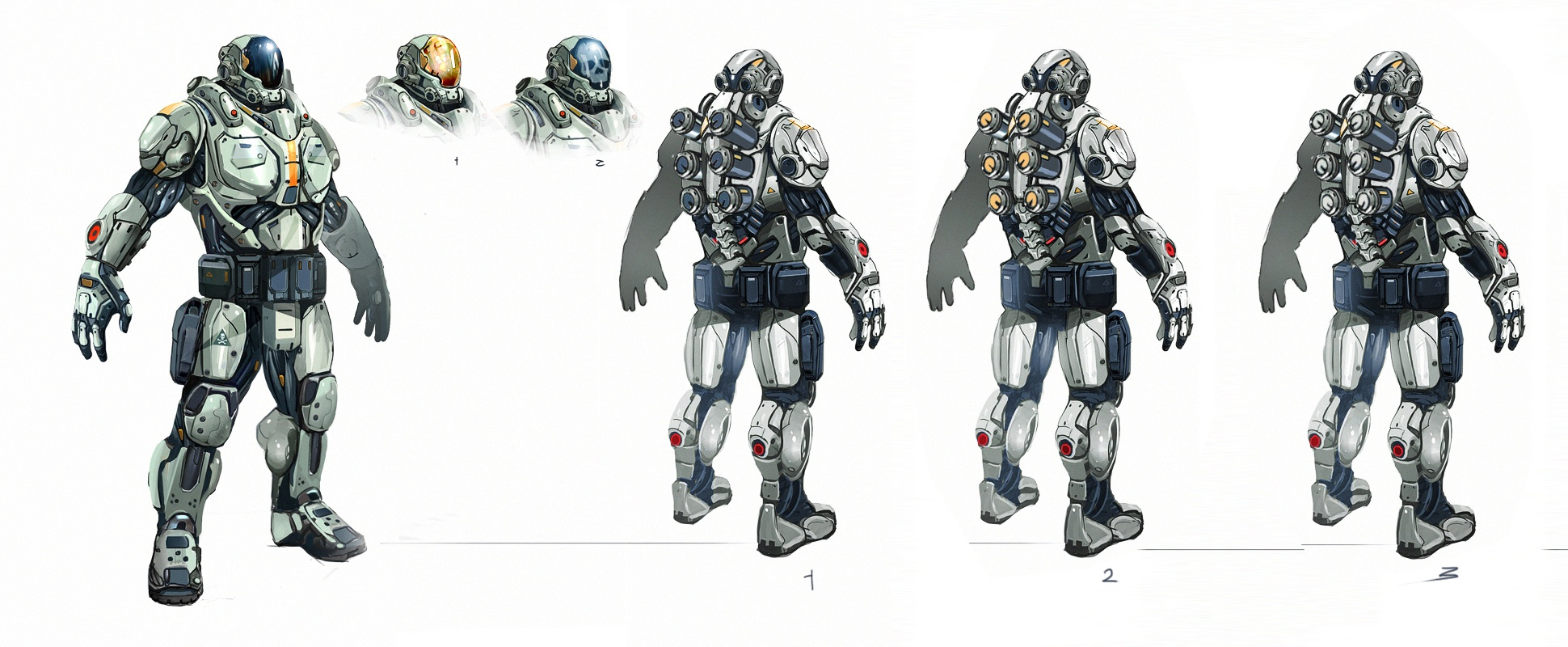 Prometheus Armor Concept Art
