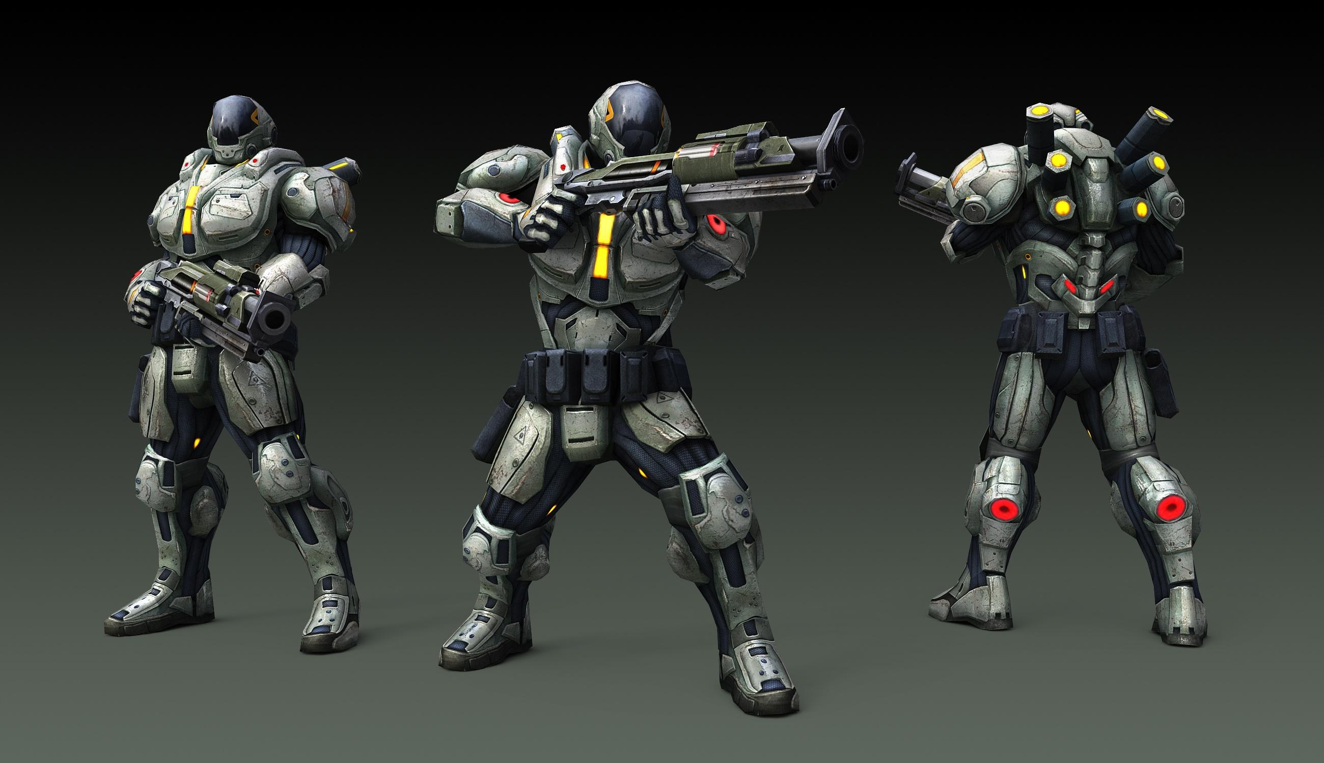 Prometheus ArmorRendering