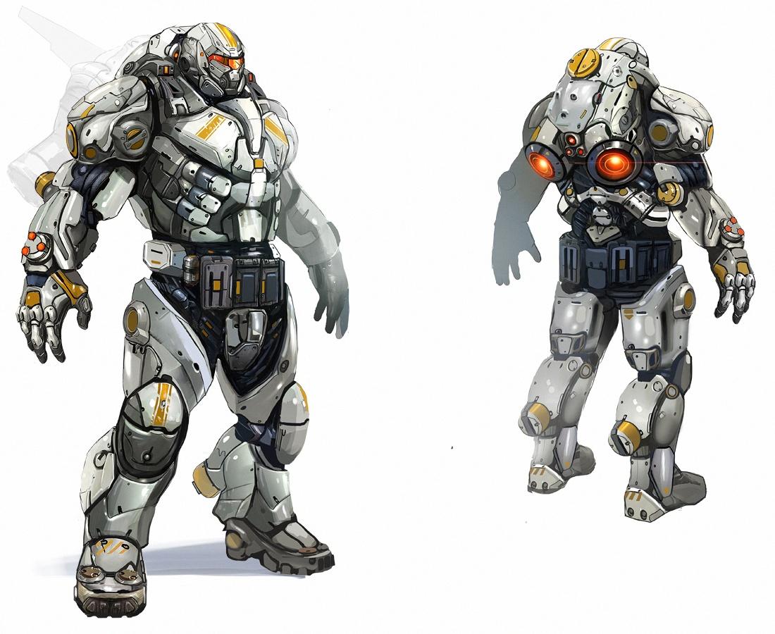 Spartan Armor Concept Art