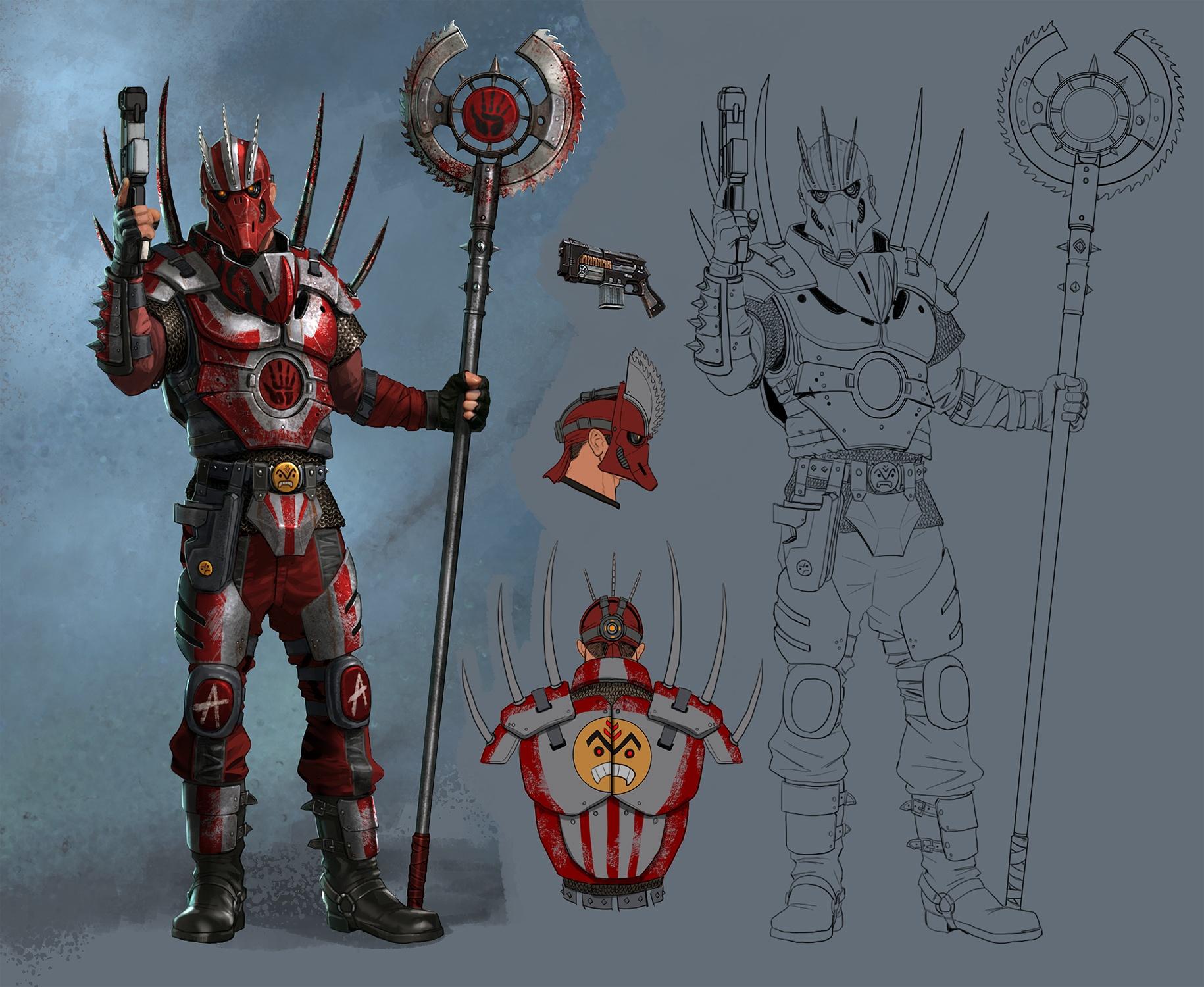 Thug Armor Concept Art