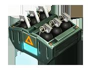 Комплект осколочных гранат G-1