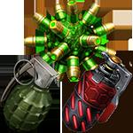 Урон гранат класса G-2
