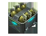 Комплект осколочных гранат G-3