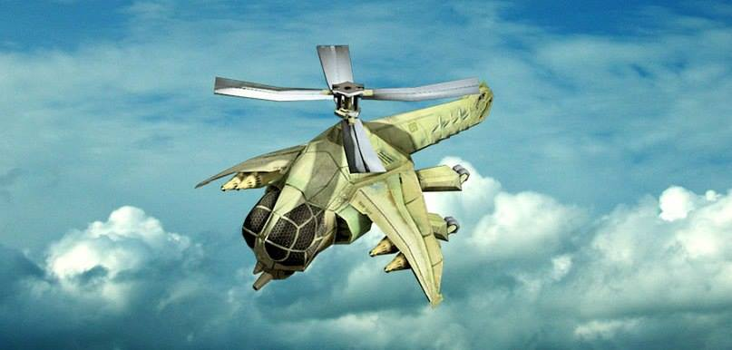 Dragonfly Helicopter Concept Art