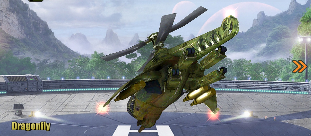 Dragonfly Helicopter Screenshot 1