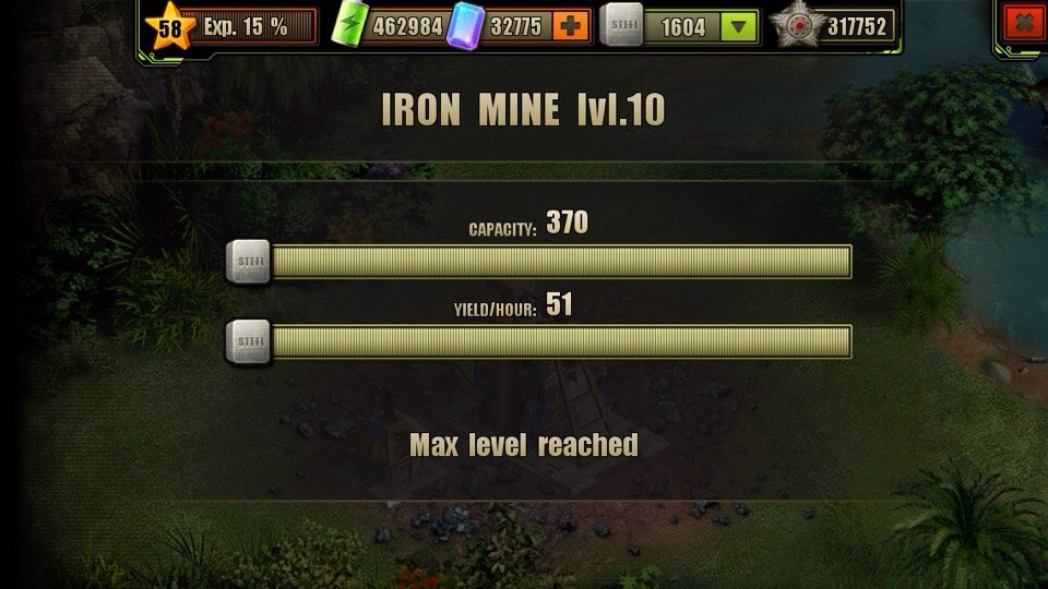 Iron Mine Level 10