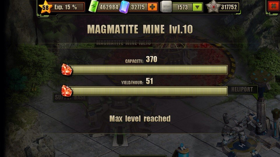 Magmatite Mine Level 10