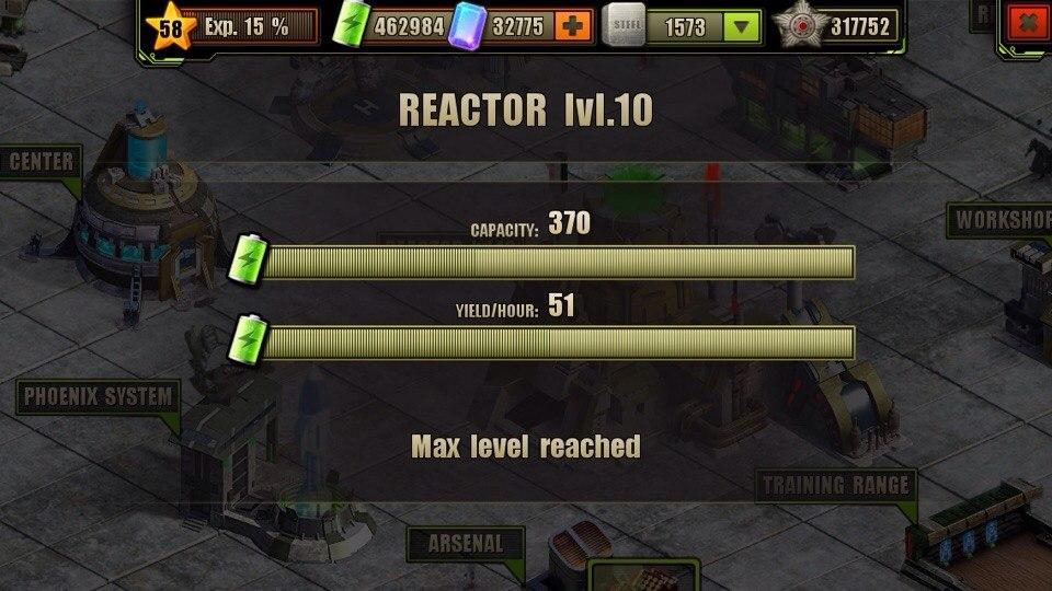 Reactor Level 10