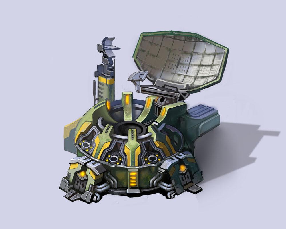 Штаб разведки - концепт-арт