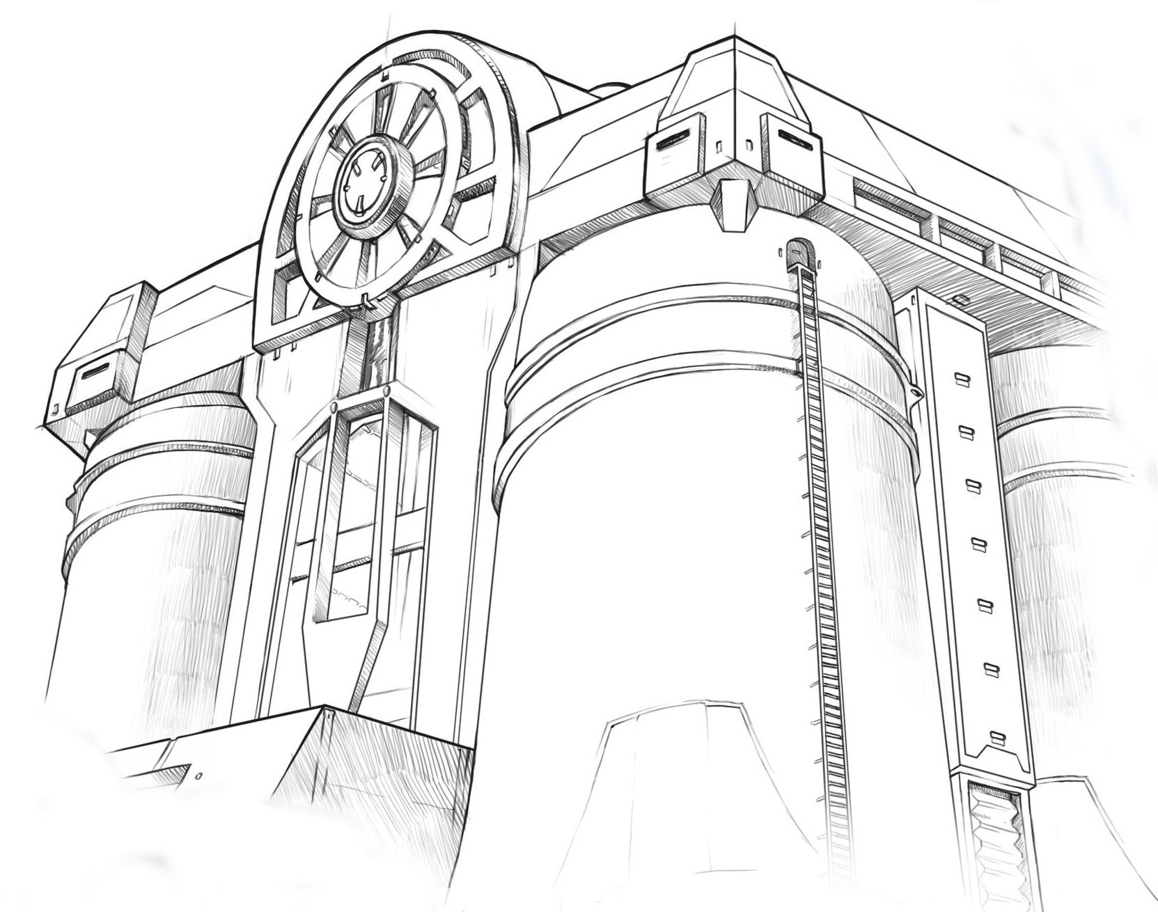 Хранилище - концепт-арт