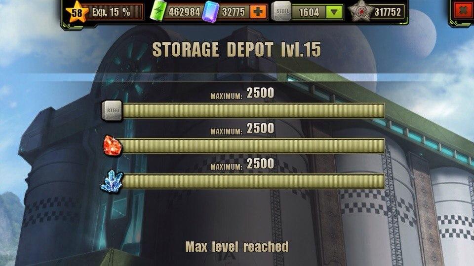 Storage Depot Level 15