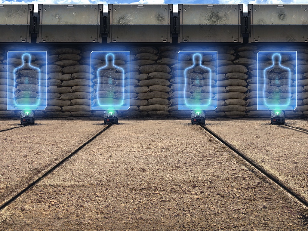 In Training Range Background Image