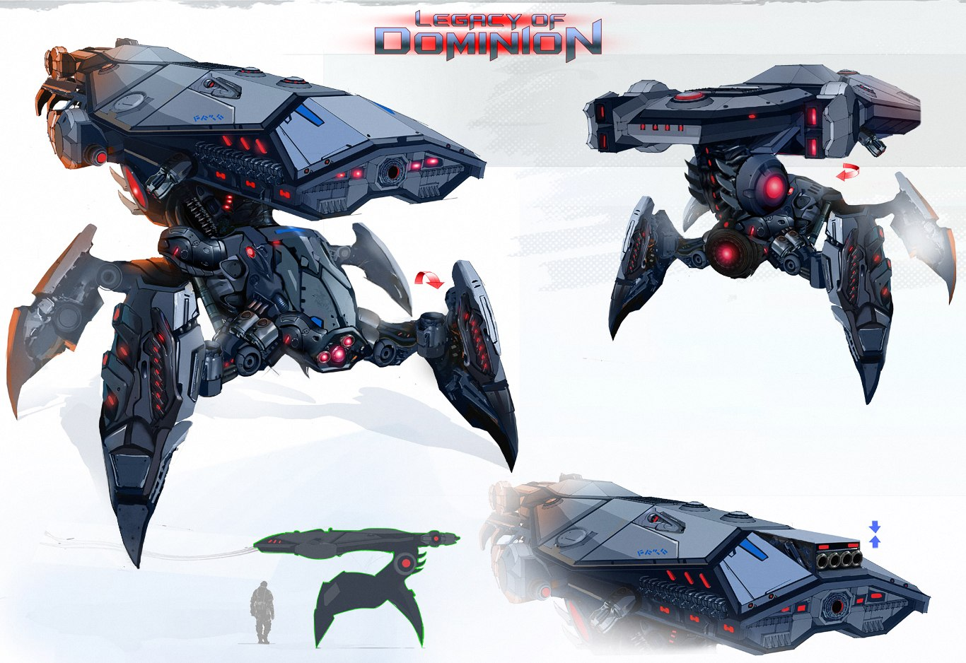 Dominion Turret Concept Art