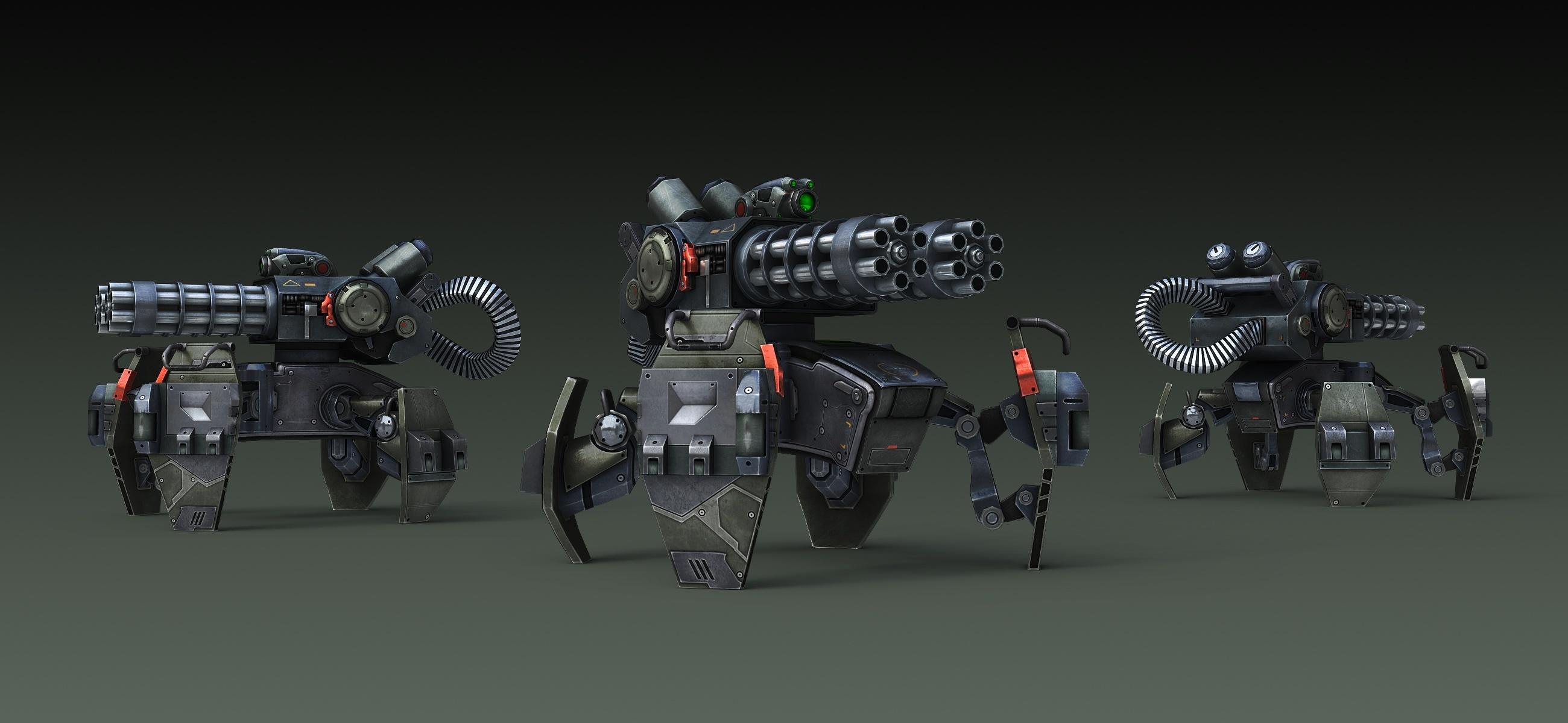 Hydra Turret Rendering