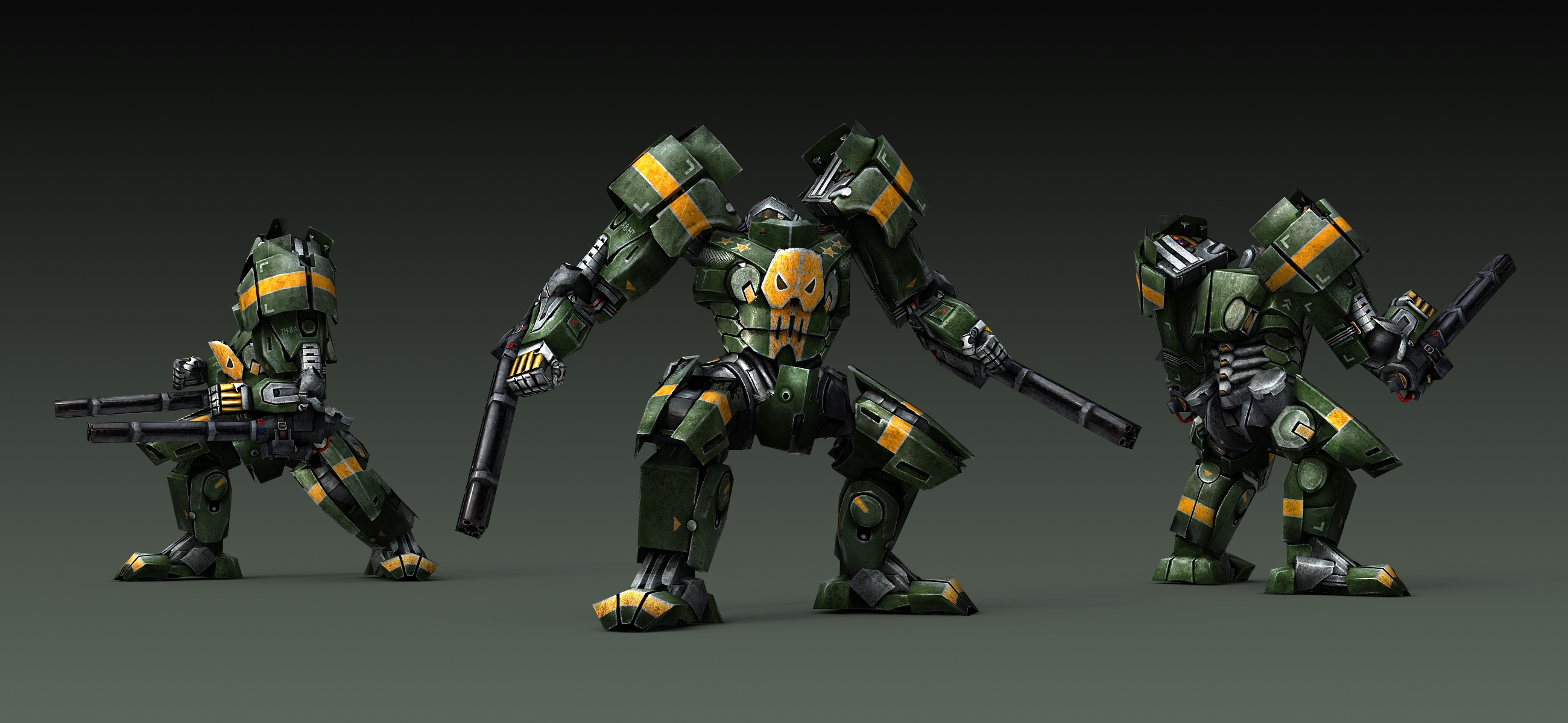 General Kurbatov's Exoskeleton Rendering (Final Version)