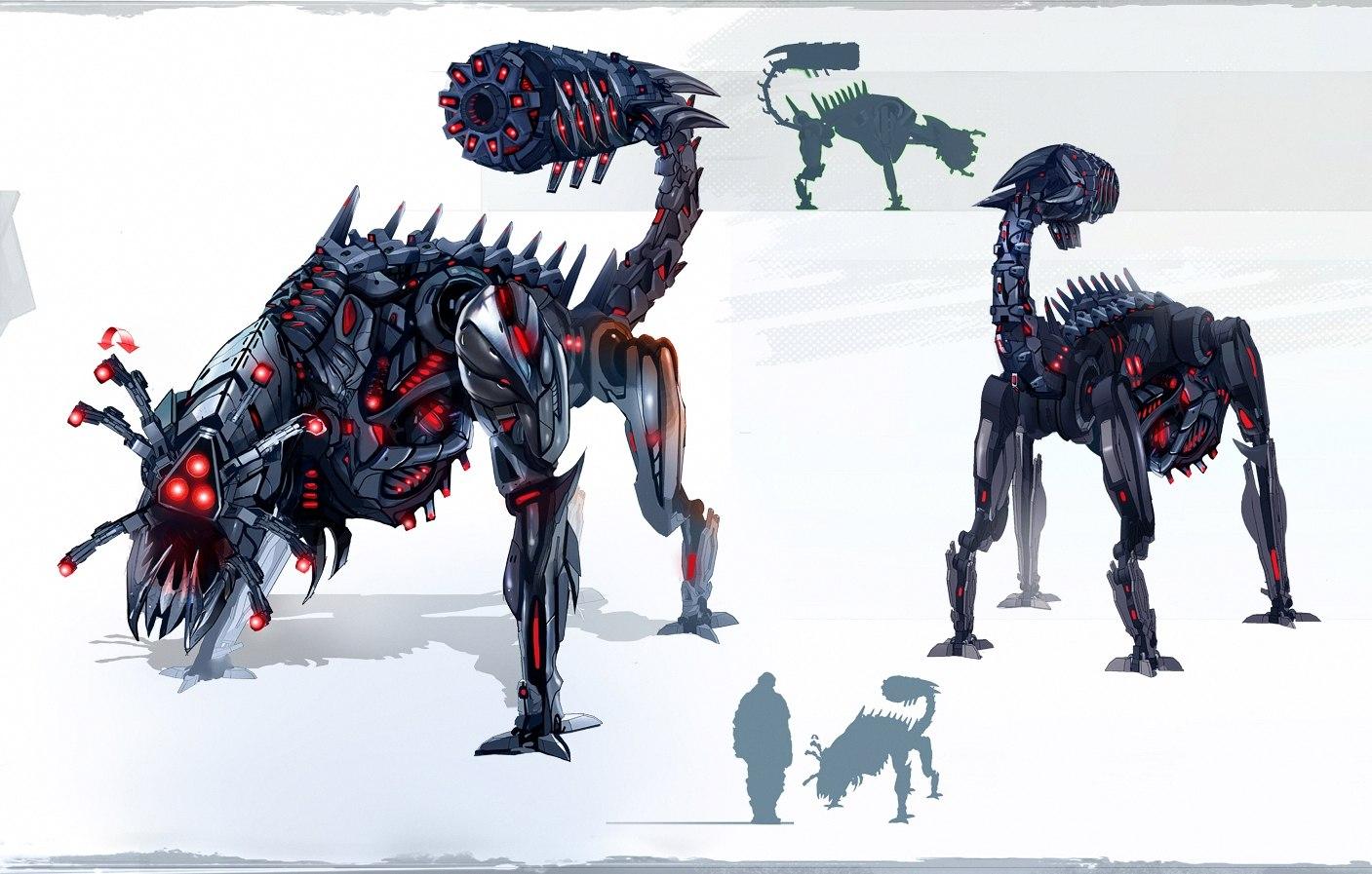 Доминатор Гончая - концепт-арт
