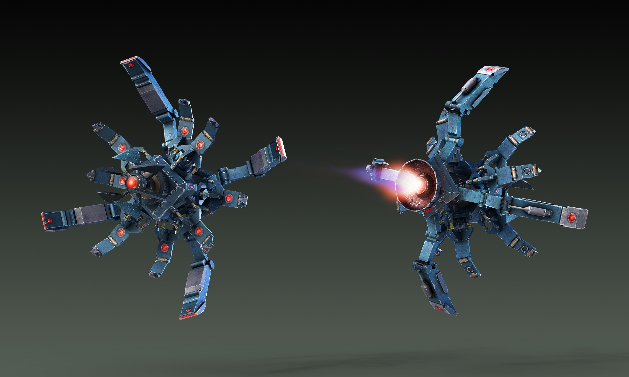 Technician Dominator Rendering