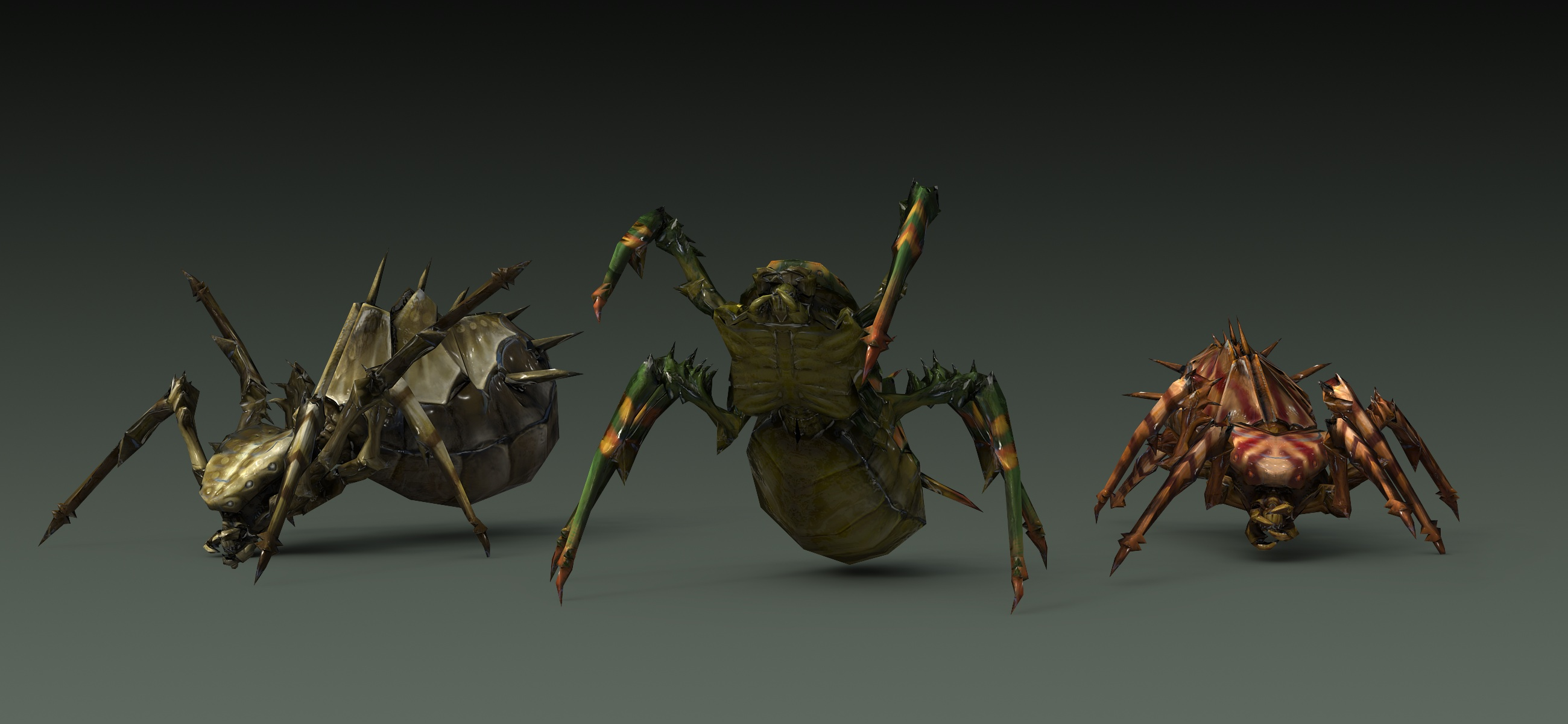 Spiders Rendering 2