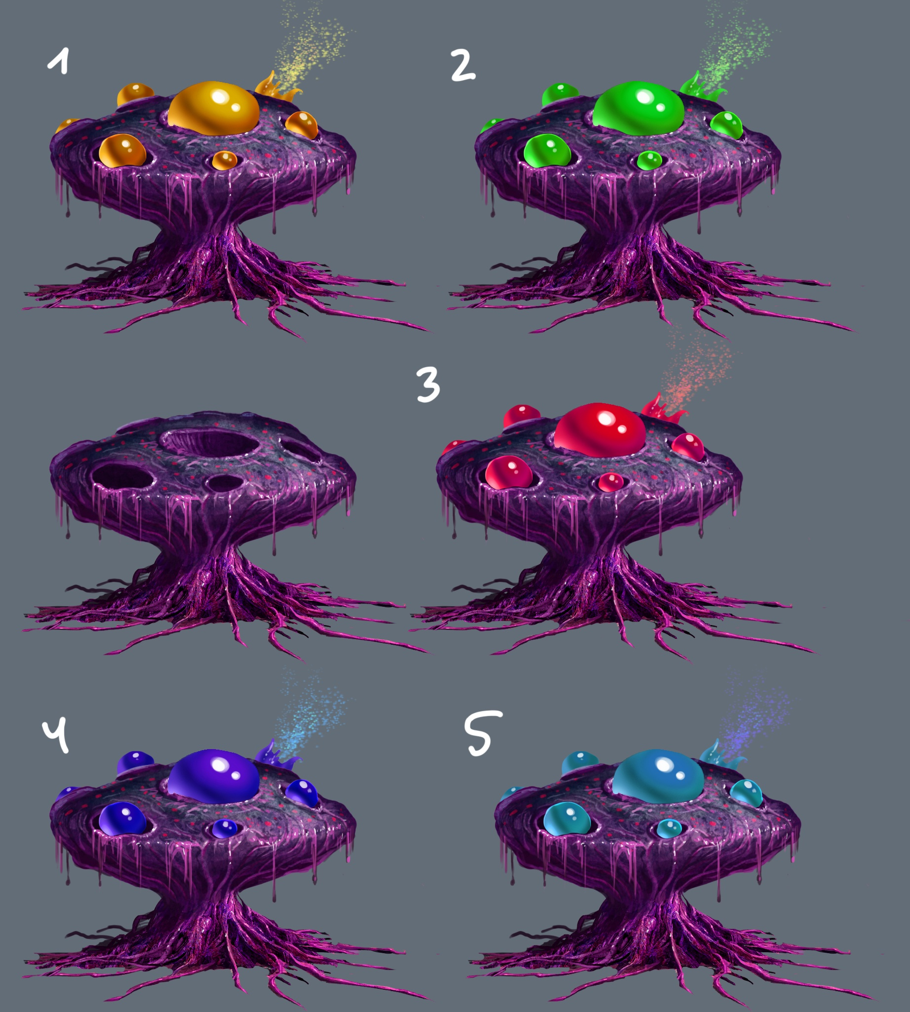 BiologicalForm Type One Concept Art