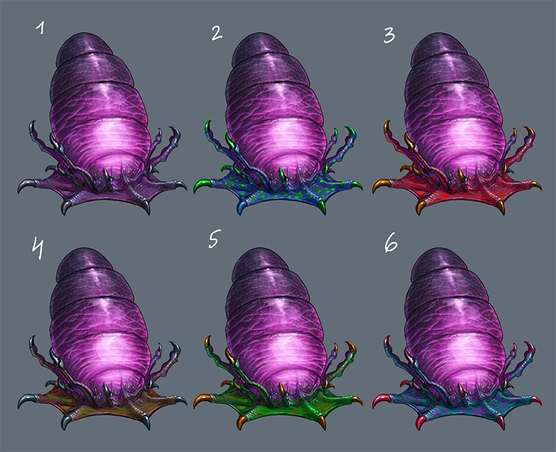 Biological Form Type 2 Concept Art