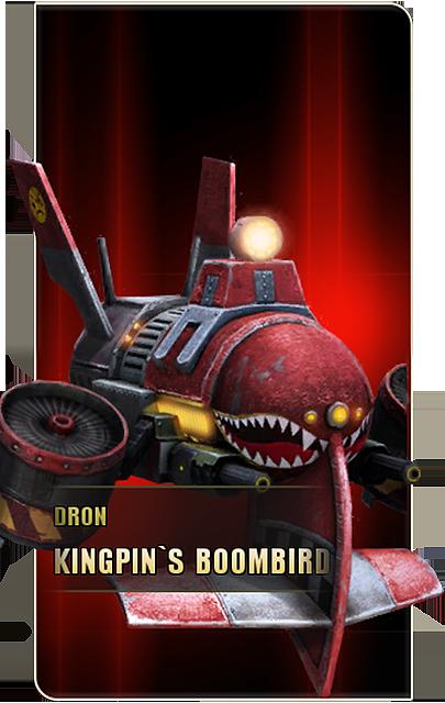 Dron Kingpin's Boombird