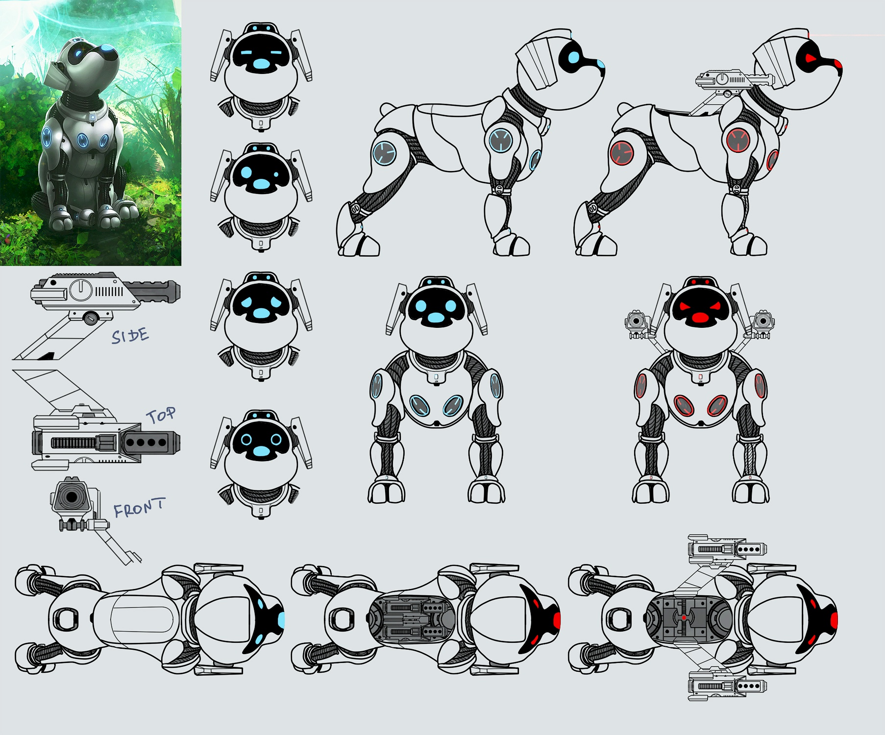 Fido Partner Concept Art