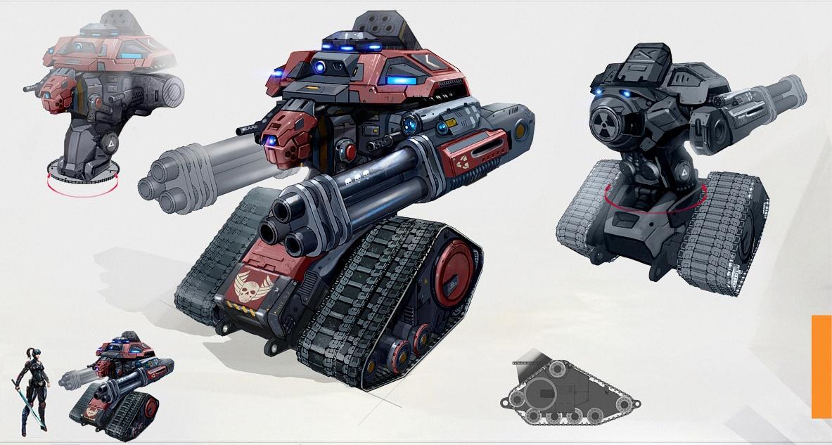 Terminator-Kingpin Partner Concept Art