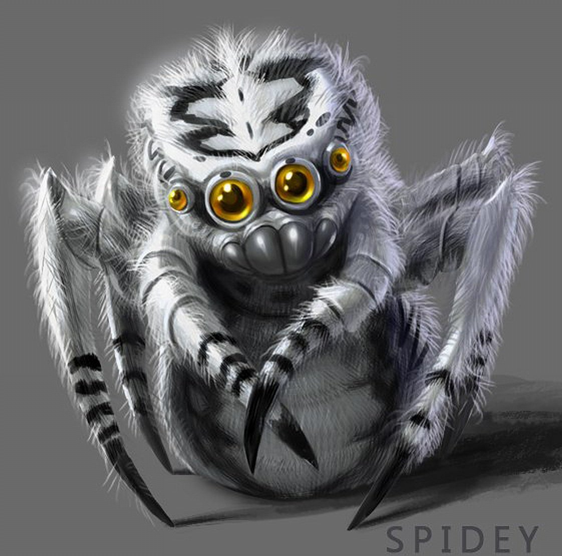 Spidey Partner Concept Art