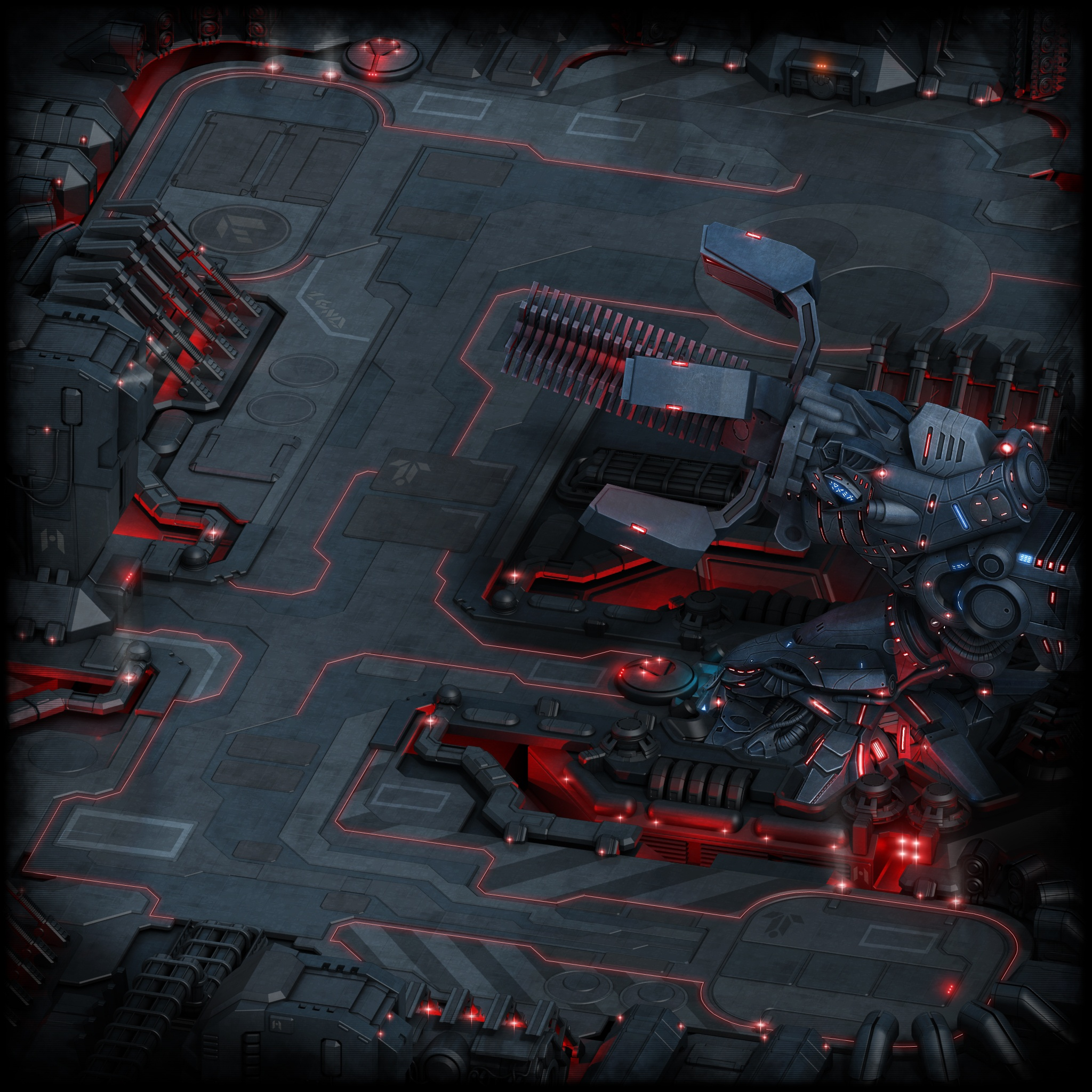 Initial View of Annihilator Location