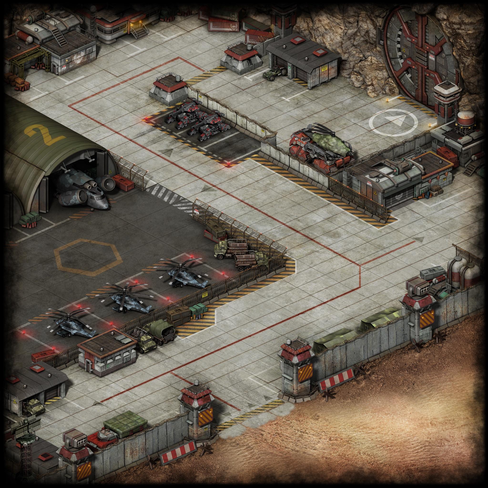 Initial View ofBlack Legion Base Location