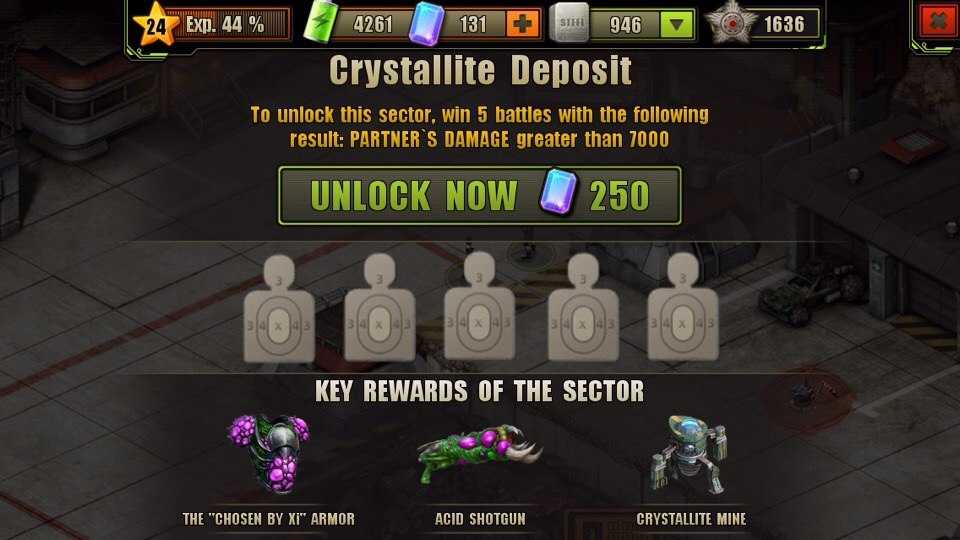 Crystallite Deposit Location Unlock Requirement