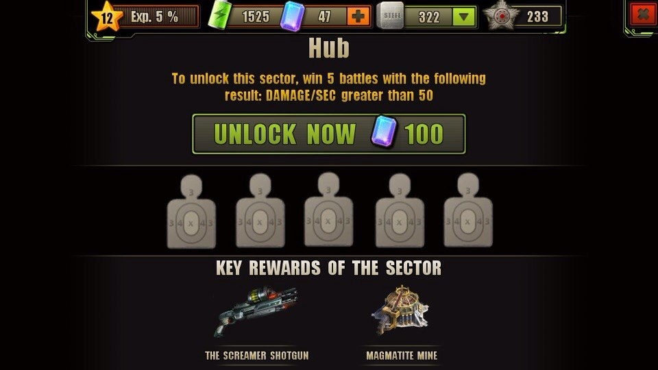 Hub Location Unlock Requirement