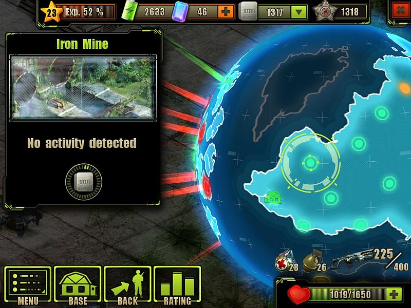 Iron MineLocation on the Globe