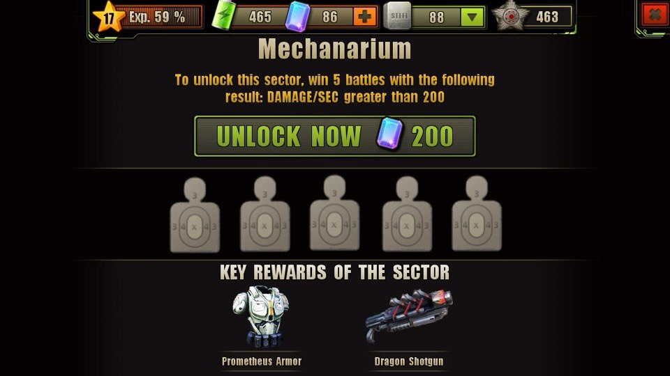 Mechanarium Location Unlock Requirement