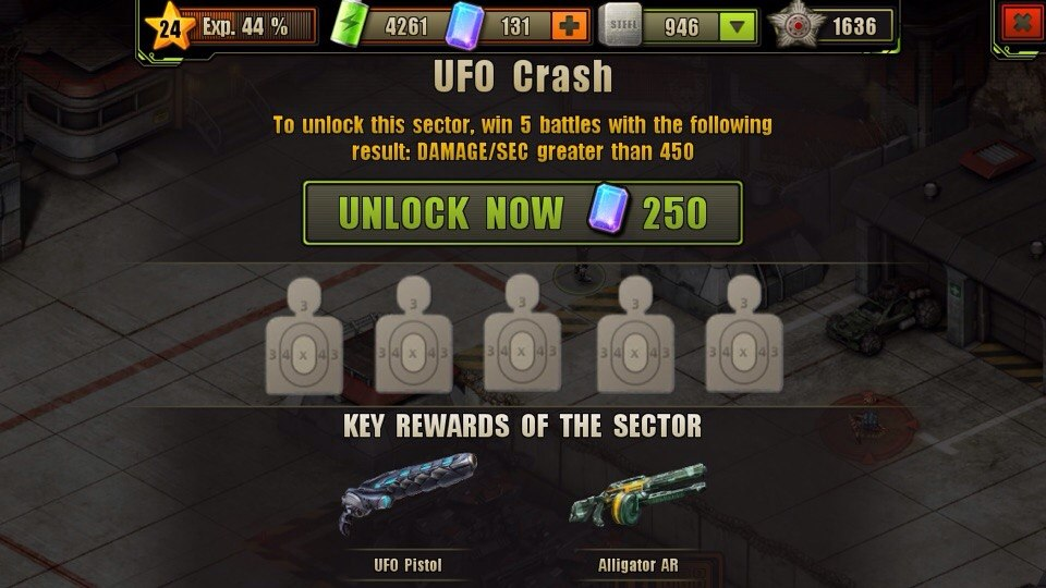 UFO Crash Location Unlock Requirement