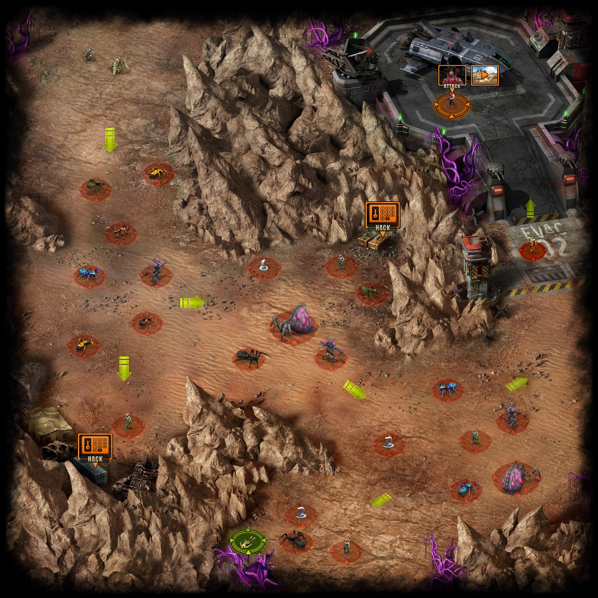 Exodus Location Walkthrough