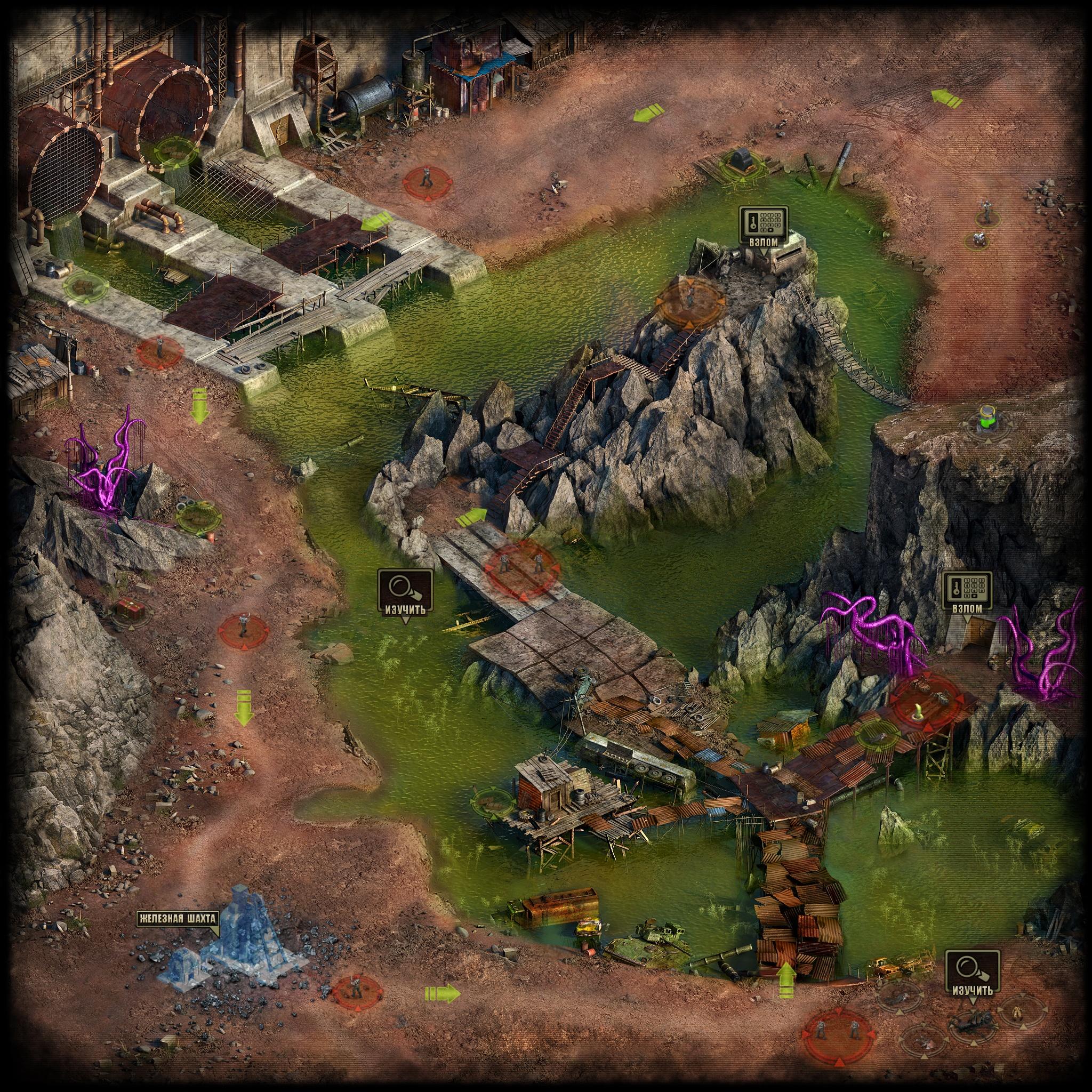 Прохождение локации Железный рудник