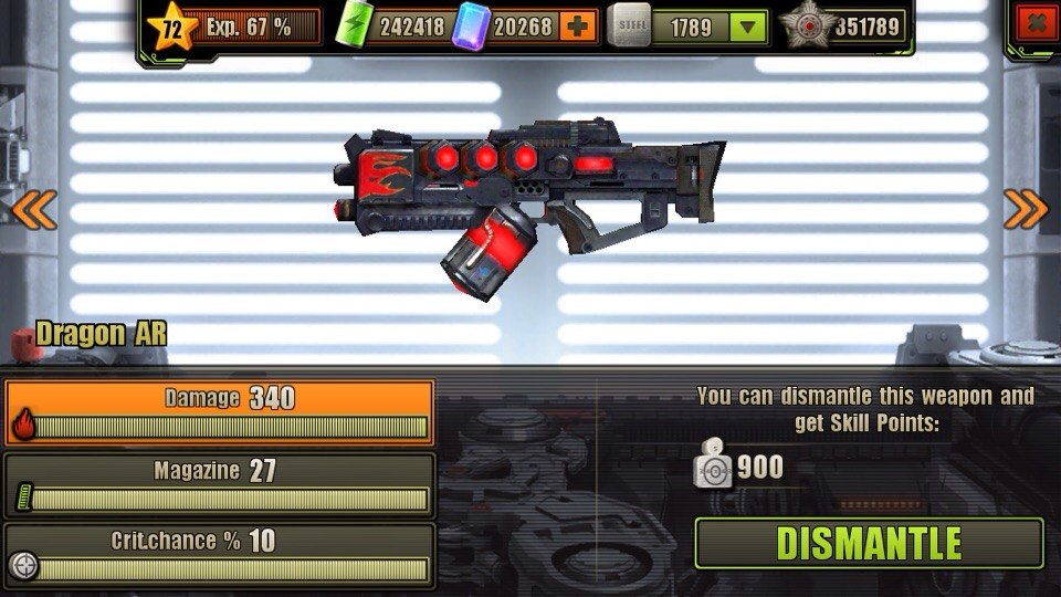 Fully Upgraded Dragon Assault Rifle