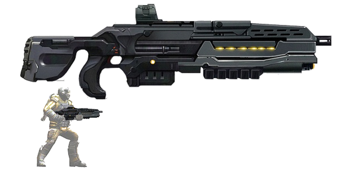 Storm Assault Rifle Concept Art