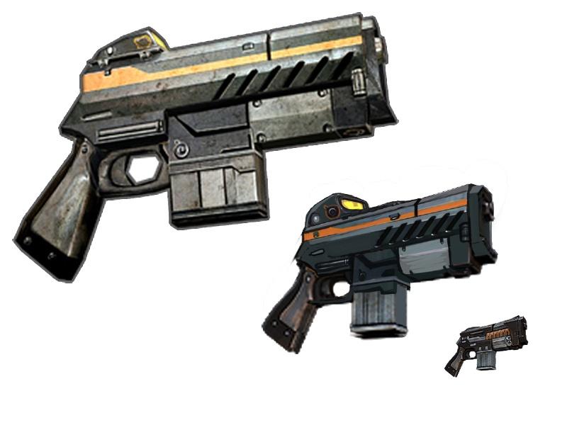 M3 SMG Concept Art