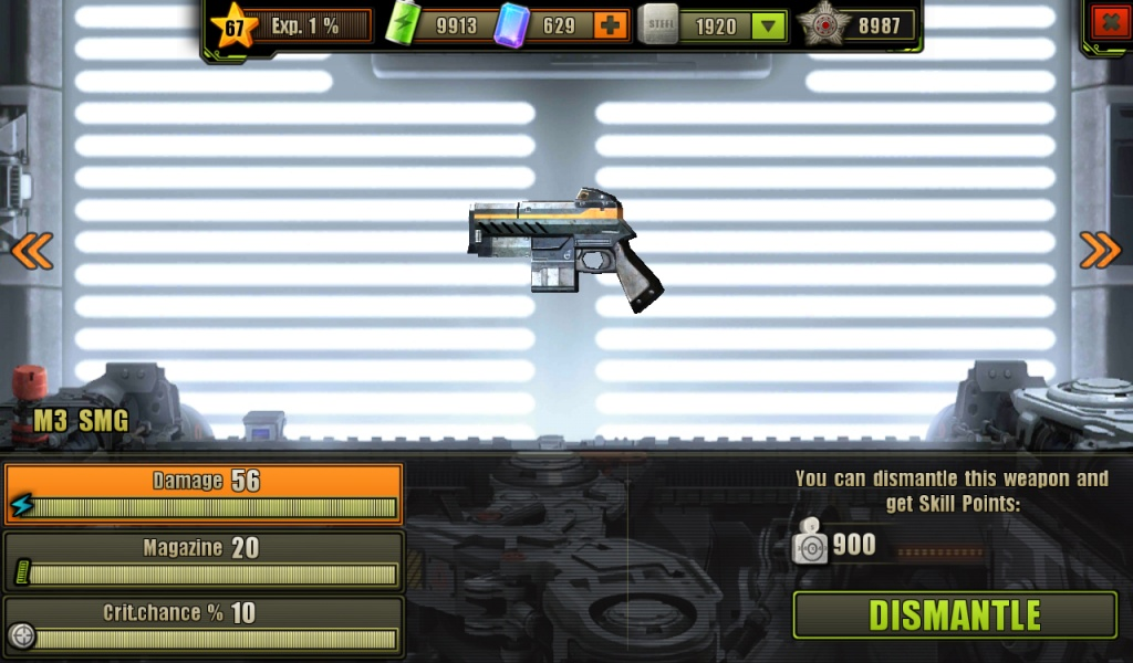 Fully Upgraded M3 SMG
