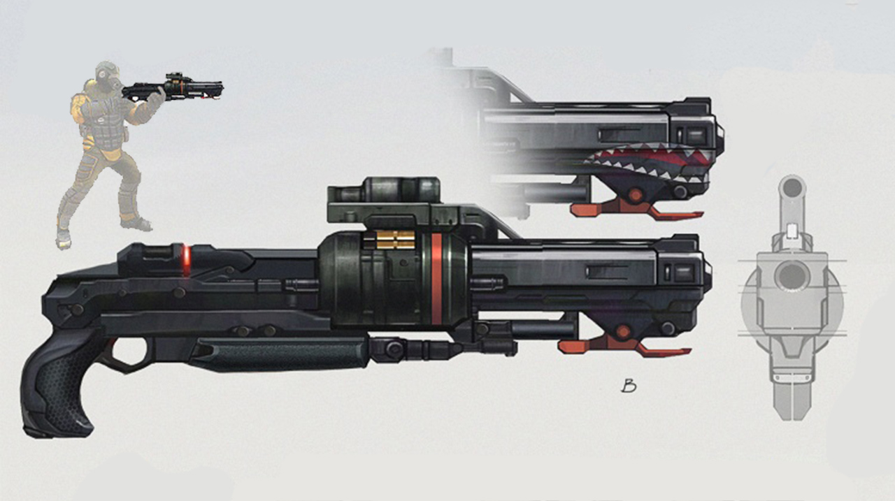 Chopper Shotgun Concept Art