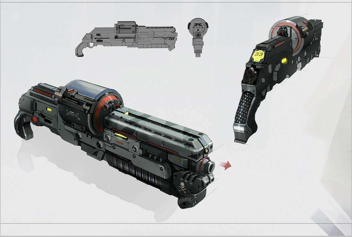 Puma Shotgun Concept Art