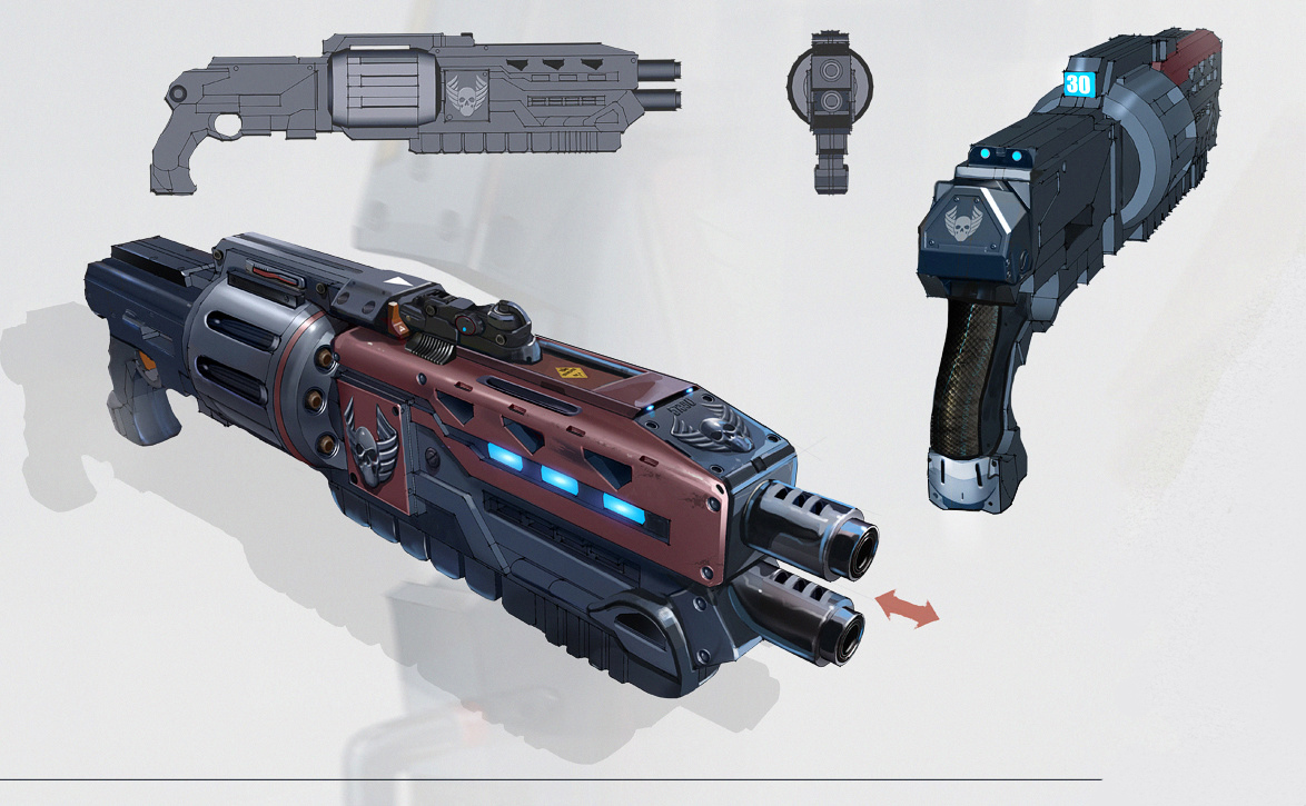 Legionary Shotgun Concept Art