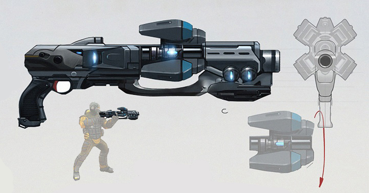 Megathrone Shotgun Concept Art