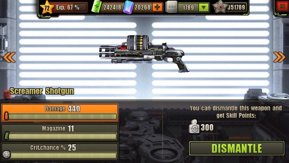 Fully Upgraded Screamer Shotgun