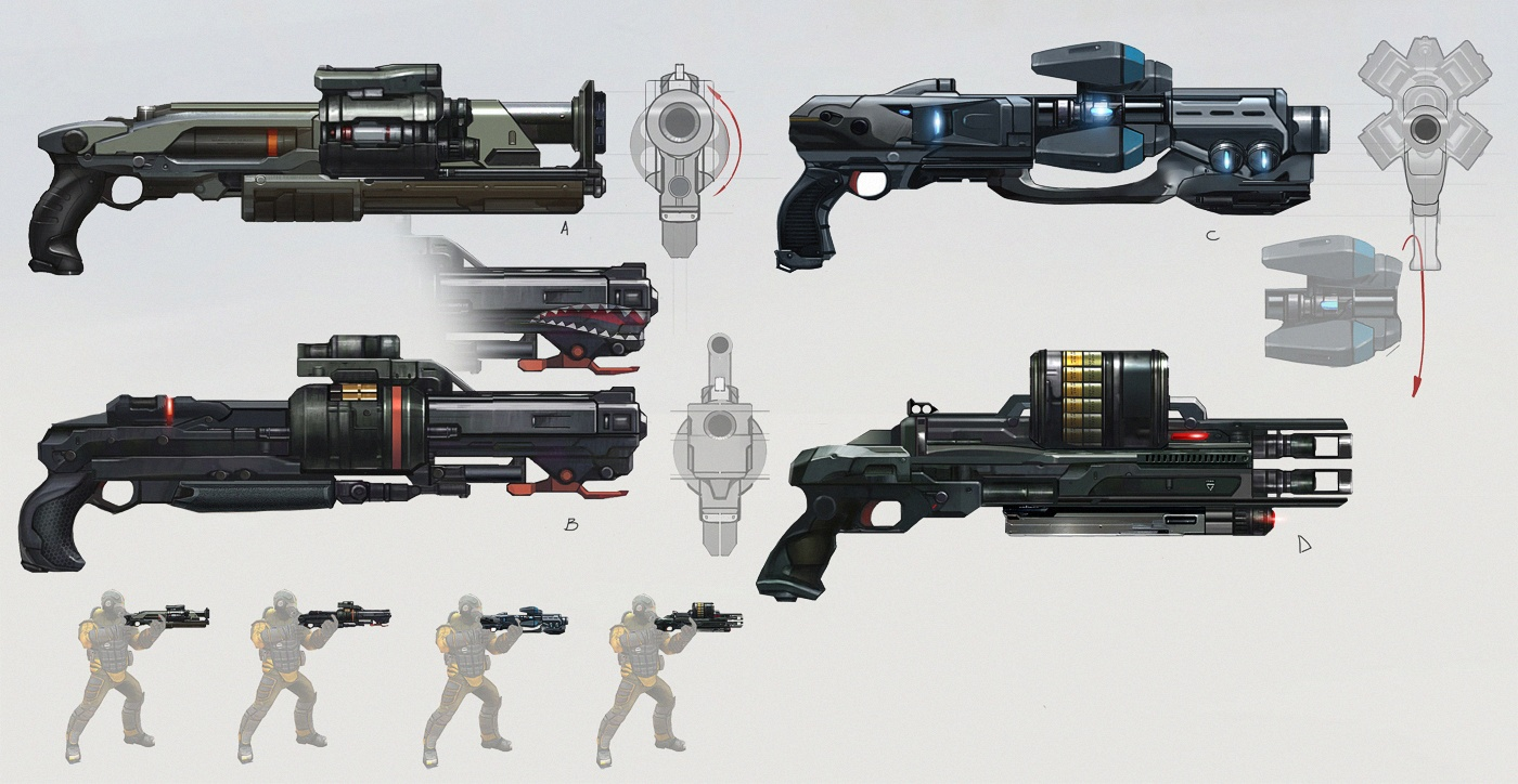 Shotgunss Concept Art